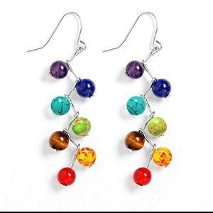 Jewelry - Chakra drop earrings